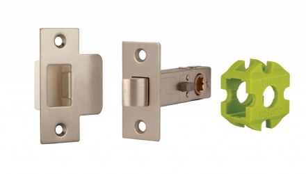 Jigtech JTL4202 Privacy Latch 57mm Satin Nickel
